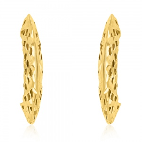 Złote kolczyki pr.333