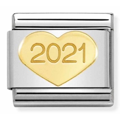 Nomination - Link 18K Gold 'Serce 2021' 030149/39