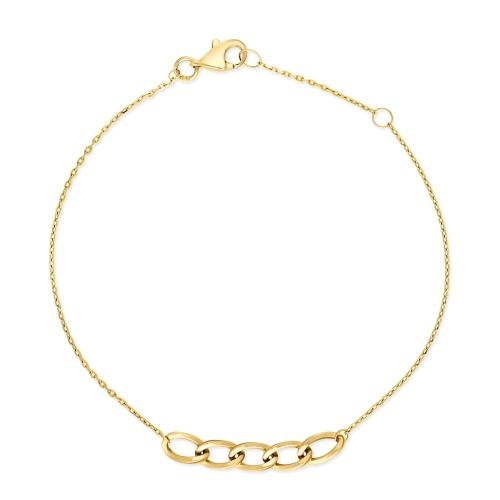 Złota bransoletka celebrytka pr.585