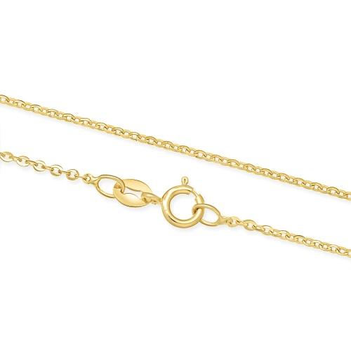 Złoty Łańcuszek Singapur 45 cm pr. 585