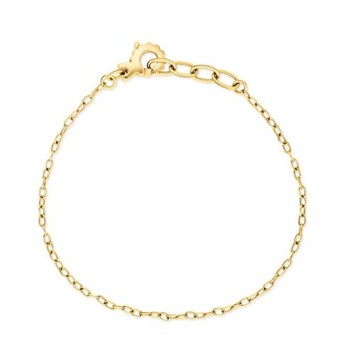 Złota bransoletka 19-21cm pr.585