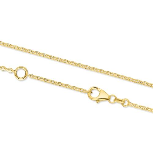 Złoty łańcuszek - Ankier 46-50cm pr.585