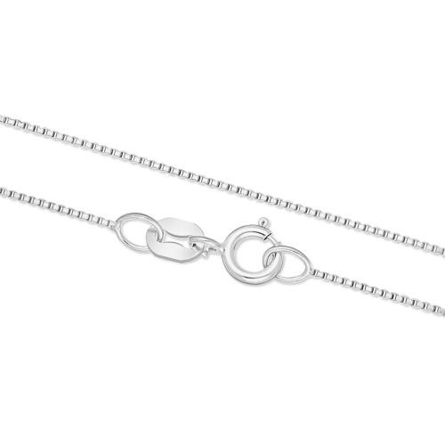 Złoty łańcuszek - Kostka 45cm pr.585