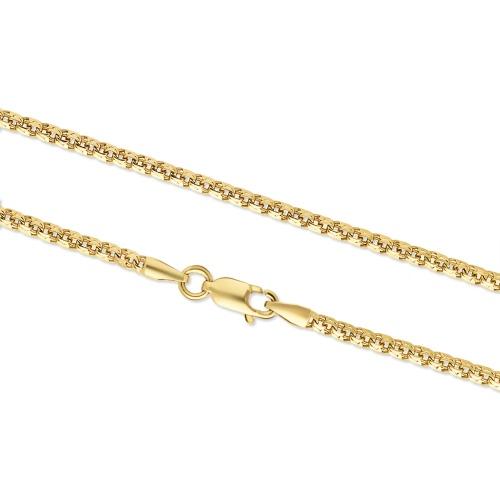 Złoty łańcuszek 83cm pr.585