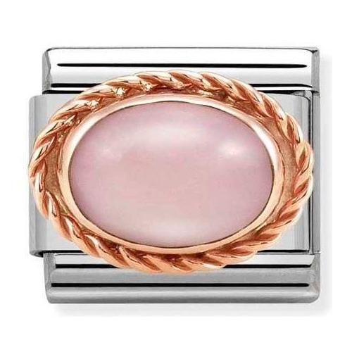 Nomination - Link 9K Rose Gold 'Pink Opaline' 430507/22