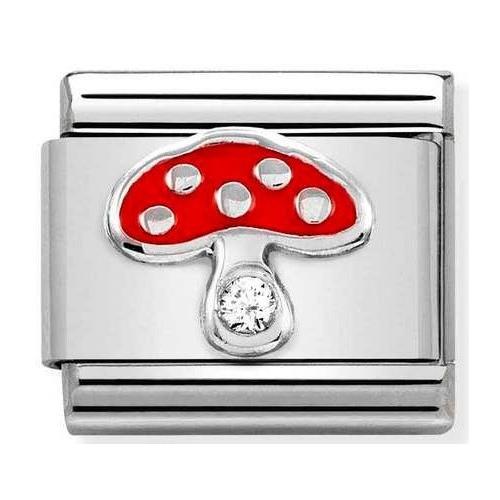 Nomination - Link 925 Silver 'Red Mushroom' 330305/18