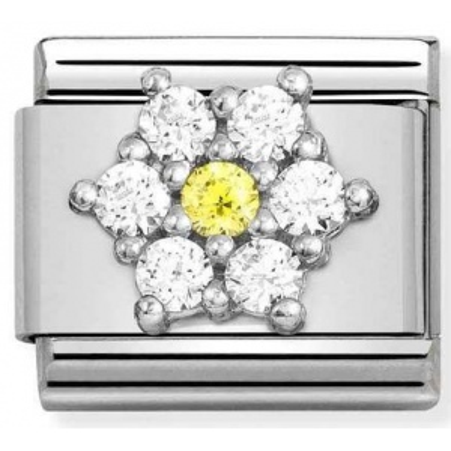 Nomination - Link 925 Silver 'Flower' 330322/01