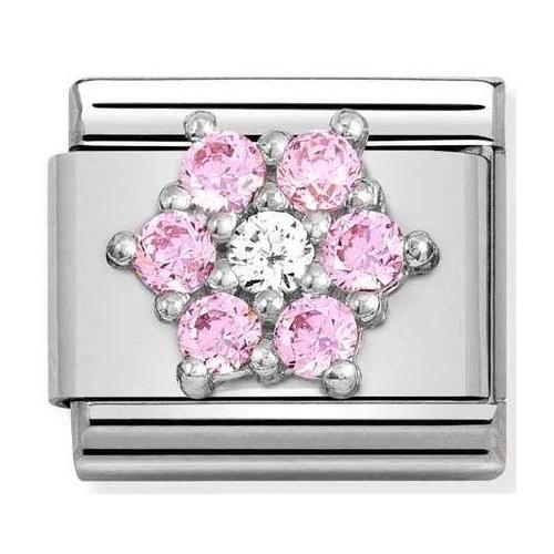 Nomination - Link 925 Silver 'Flower' 330322/03