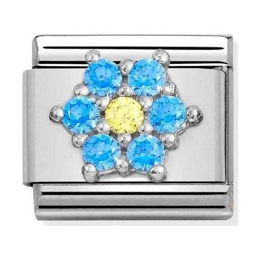 Nomination - Link 925 Silver 'Flower' 330322/04