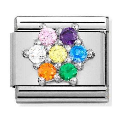 Nomination - Link 925 Silver 'Flower' 330322/05