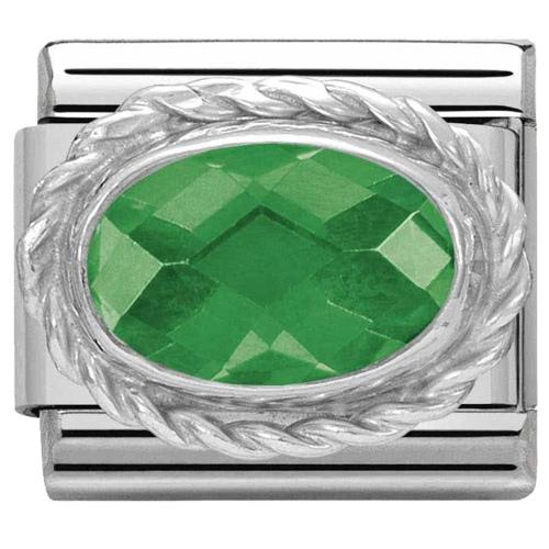 Nomination - Link 925 Silver 'Szampańska Cyrkonia' 330604/024