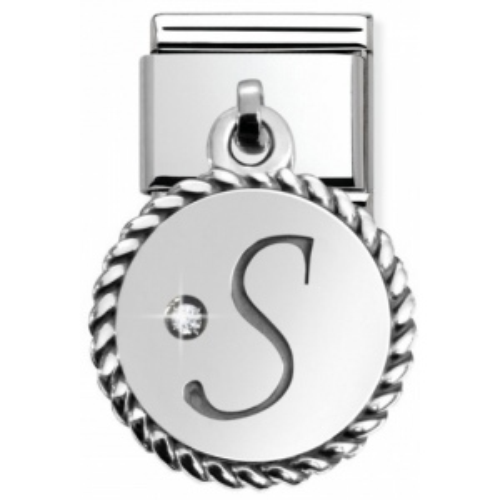 Nomination - Link 925 Silver 'Litera S' 031715/19