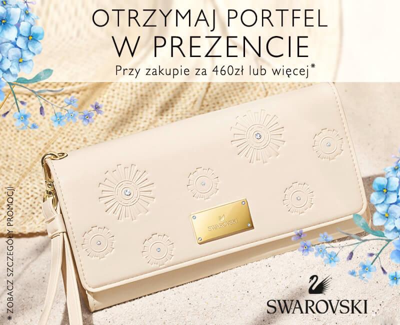 Ekskluzywny portfel Swarovski w prezencie!