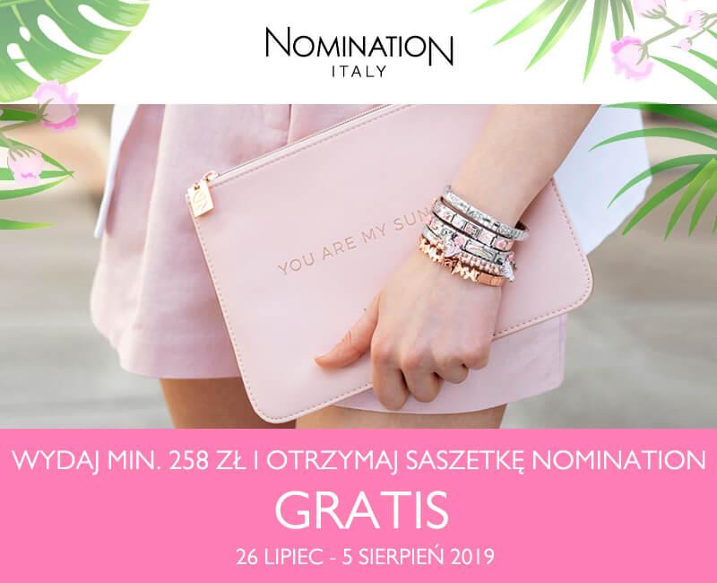 Saszetka Nomination w prezencie!
